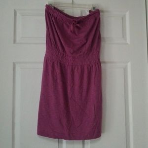 LOFT Strapless Cotton Dress NWT
